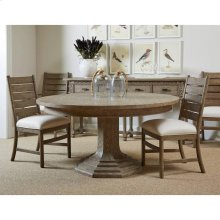 "Portico 60"" Round Dining Table - Drift"