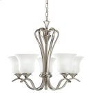 Wedgeport Collection Chandelier 5Lt Fluorescent NI Product Image