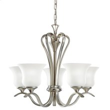 Wedgeport Collection Chandelier 5Lt Fluorescent NI
