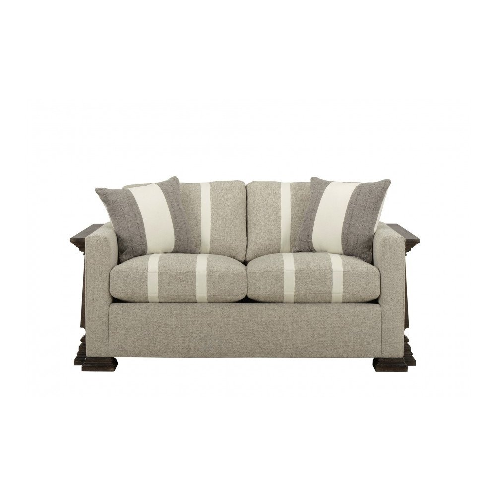 Harrison French Oak Loveseat