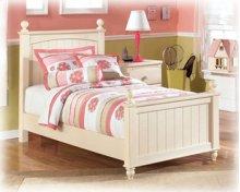 Twin Poster Bed (Headboard, Footboard, Rails)