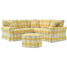 725 LSF Loveseat 25 Corner Wedge 725 RSF Loveseat