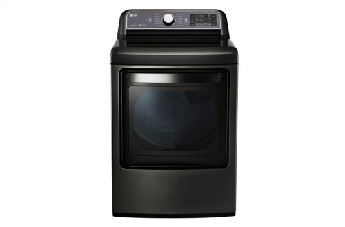 RED HOT BUY-BE HAPPY! 7.3 cu. ft. Ultra Large Capacity TurboSteam Electric Dryer with LG EasyLoad Door