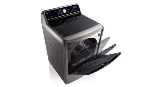 9.0 Cu. Ft. Mega Large Capacity TurboSteam Dryer With EasyLoad Door