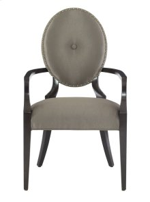 Jet Set Arm Chair in Caviar (356)
