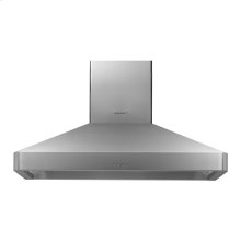 """Discovery 48"""" Chimney Hood, wall-mounted in Stainless Steel"""