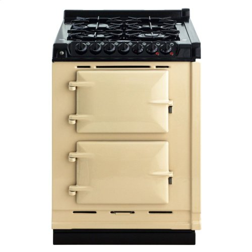 White AGA Integrated Dual Fuel Module LP