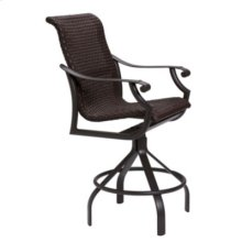 Montreux Woven Swivel Bar Stool