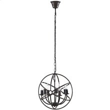 Atom Chandelier in Brown