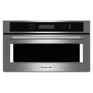 "KITCHENAID30"" Built In Microwave Oven with Convection Cooking - Stainless Steel"