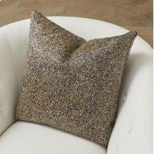 Multi Beaded Pillow-Gold