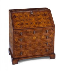 William & Mary Walnut & Oyster Bureau