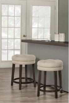 Krauss Backless Swivel Counter Stool - Linen Stone