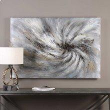 Vortex Hand Painted Canvas