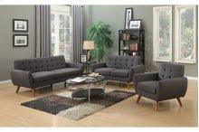 Daphne SWU6928 Gray Sofa Love Chair