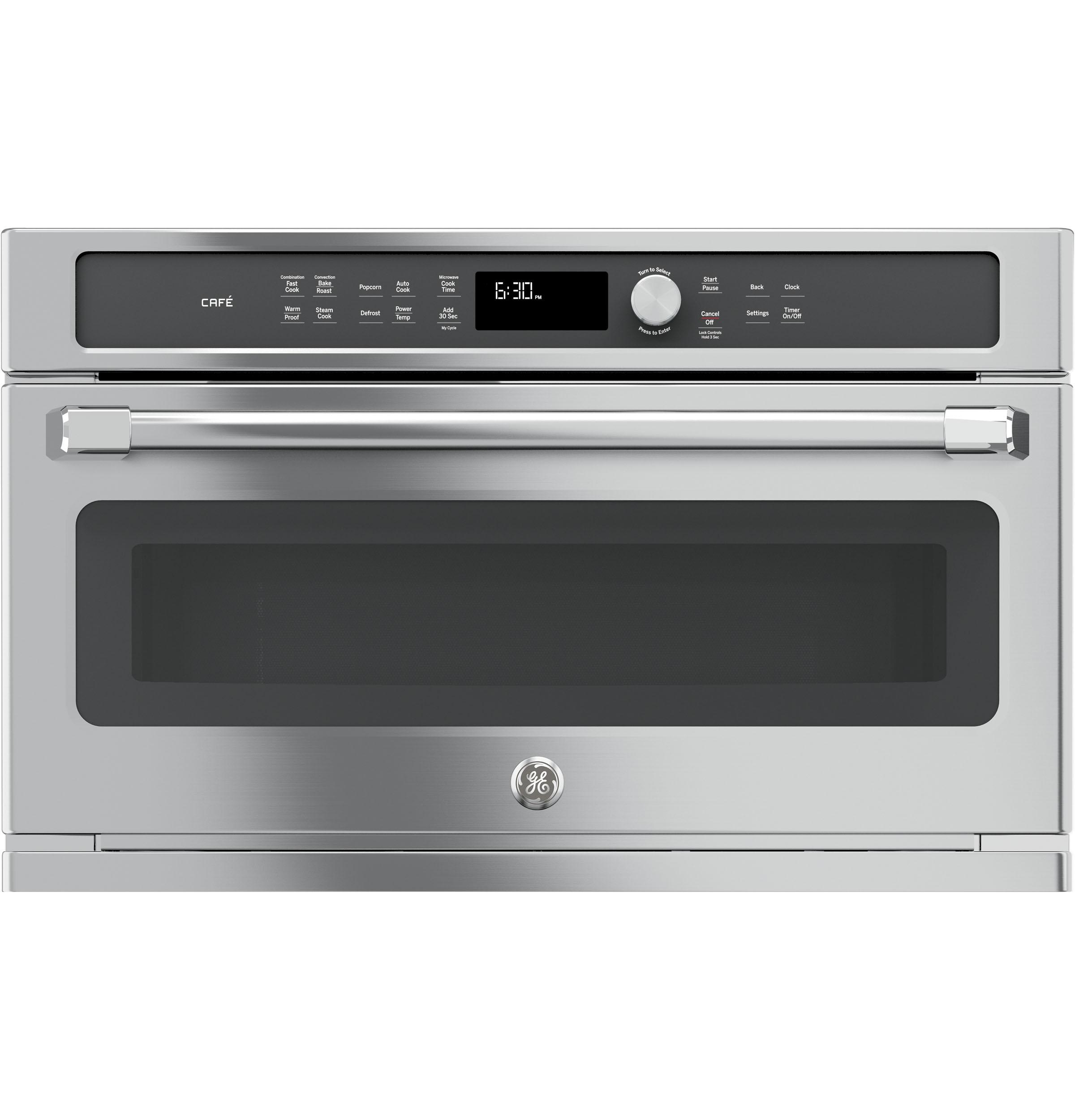 Ge Cafe Trade Series Built In Microwave Convection Oven