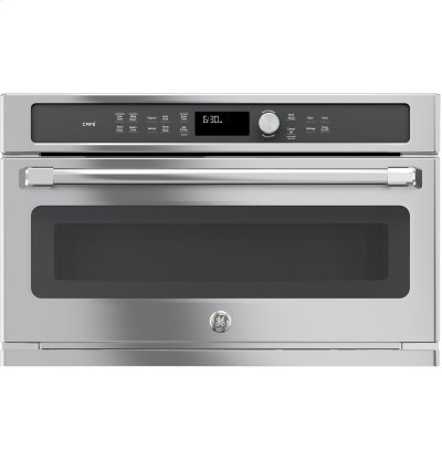 GE Cafe™ Series Built-In Microwave/Convection Oven Product Image