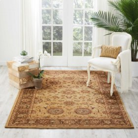 Nourison 2000 2258 Bge Rectangle Rug 8'6'' X 11'6''