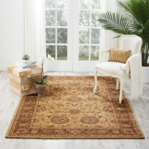Nourison 2000 2258 Bge Rectangle Rug 3'9'' X 5'9''