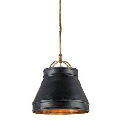 Lumley Black Pendant