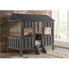 Gray House Bed with options: Grey, Twin Product Image