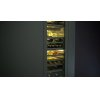 "Gaggenau 400 Series 400 Series Wine Climate Cabinet Fully Integrated, Panel Ready, With Glass Door Niche Width 18"" (45.7 Cm)"
