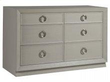 Zeitgeist White Double Dresser