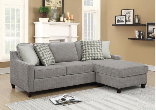 Montgomery Sectional - Charcoal
