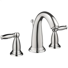 Chrome Widespread Faucet with Pop-Up Drain, 1.2 GPM