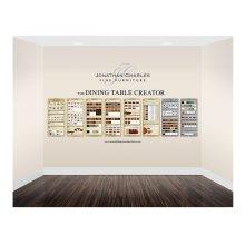 Medium Custom Dining Graphic Display