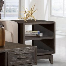 Vogue - Side Table - Umber Finish