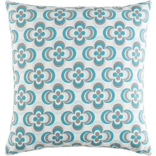 """Trudy TRUD-7137 18"""" x 18"""" Pillow Shell with Down Insert"""