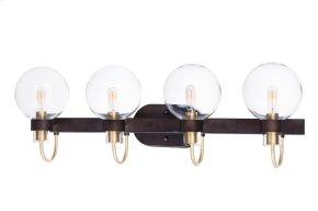 Bauhaus 4-Light Bath Vanity