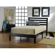 Aiden Black Twin Bed
