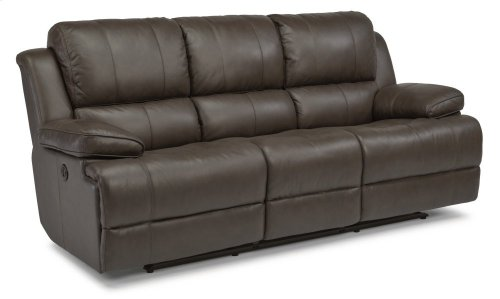 Simon Leather Power Reclining Sofa