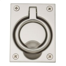 Satin Nickel Flush Ring Pull