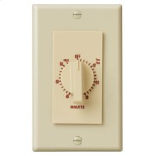 "60 Minute Time Control, with ""continuous on"" feature. Ivory, 20 amps, 120V"