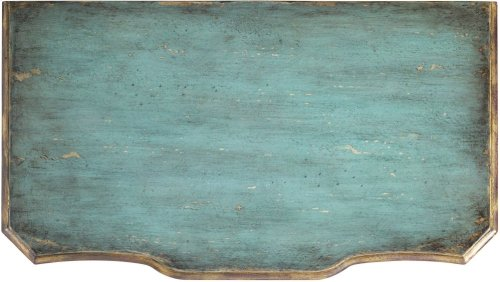 Three Drawer Turquoise Chest