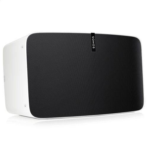 White- Give your record collection the stereo sound it deserves. Stream music, too.