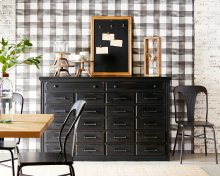 General Store Sideboard/Dresser with Gaven Chair