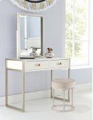 Swanson Non-swivel Vanity Stool - White Product Image