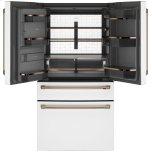 Caf(eback)(tm) Energy Star(r) 27.8 Cu. Ft. Smart 4-Door French-Door Refrigerator