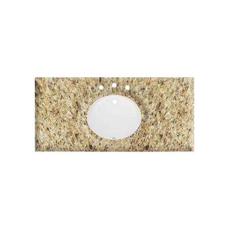 """Additional 49"""" Giallo Ornamental (GO) - Granite Top"""