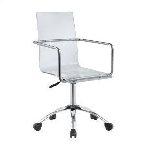 CoasterContemporary Clear Acrylic Office Chair