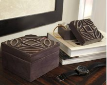 Timber and Tanning Box (Set of 2)