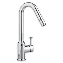 Polished Chrome Pekoe Pull-Out Kitchen Faucet