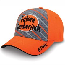 """Get the next generation """"STIHL ready"""" with this youth cap."""