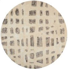 Christopher Guy Wool Collection Cgw12 Marble White/misted Morning Round Rug 10' X 10'
