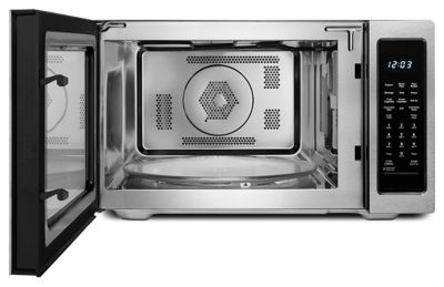 1200 Watt Countertop Convection Microwave Oven   Stainless Steel