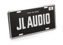 JL Audio License Plate